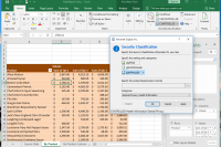 CUI compliant markings in Excel spreadsheets