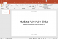 CUI Marked PowerPoint Presentation
